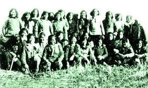 1959年5月,山东曹县赴黑龙江垦区的支边青年合影