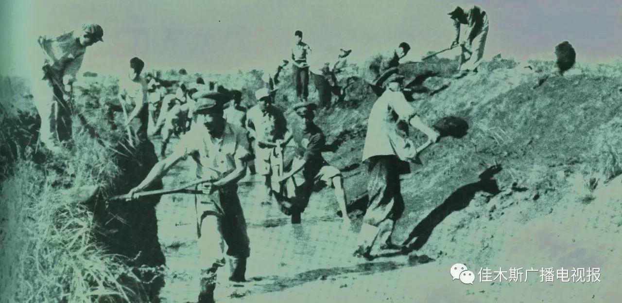 1958年,十万官兵转业到佳木斯开发北大荒